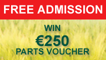 Pre-register HERE for the Future of Farming Expo - and a chance to win a €250 parts voucher